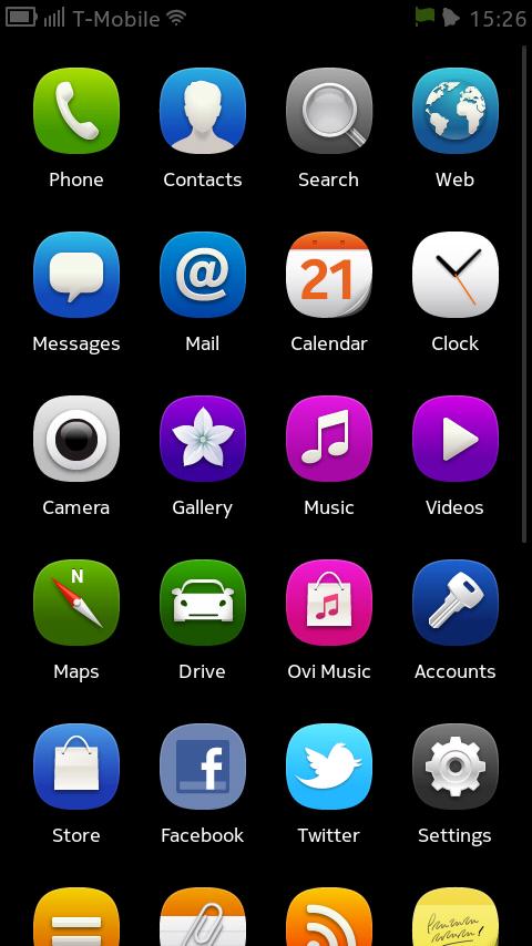 Nokia N9 aplikacje