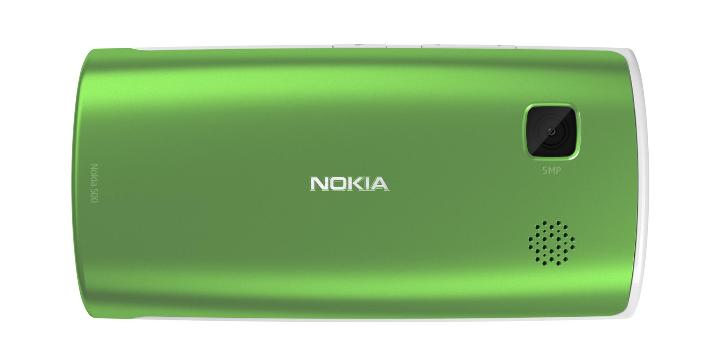 Nokia 500 back