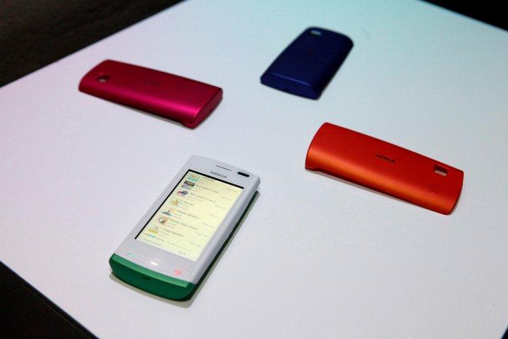 Nokia 500 na żywo