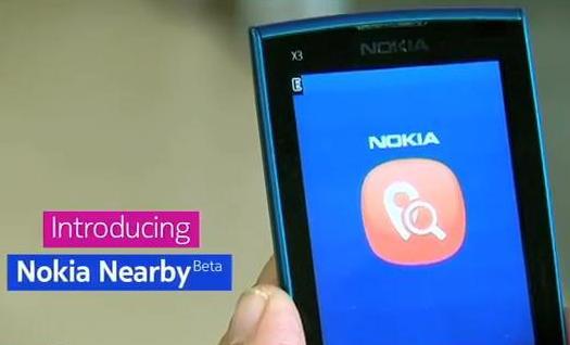 Nokia Nearby apps