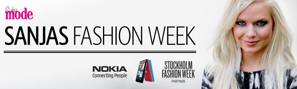 Nokia sanjas fashion week