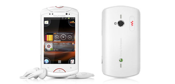 Sony Ericsson Live with Walkam white