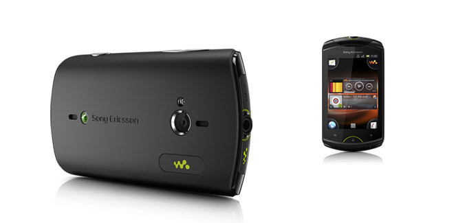 Sony Ericsson Live with Walkman black