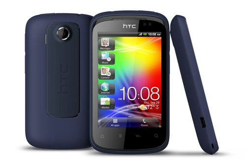 HTC Explorer front and back