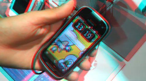 Nokia 701 3D video