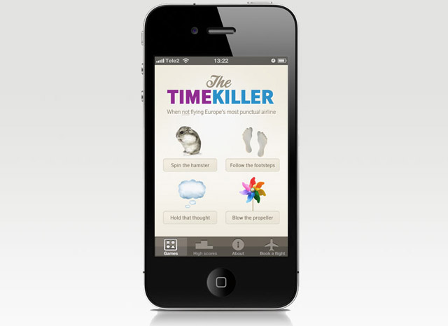 timekiller iPhone app