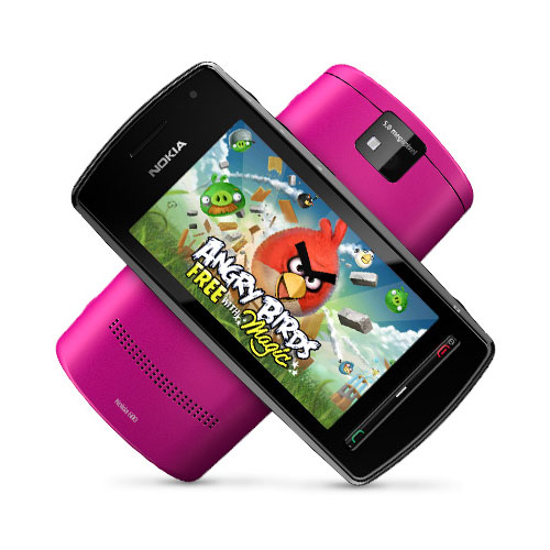 Nokia 600 Angry Birds