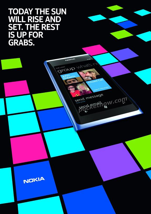 Nokia 800 ads