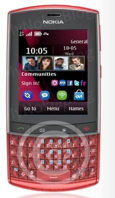 Nokia 303 przeciek