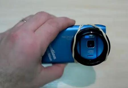 Nokia N8 macro lens