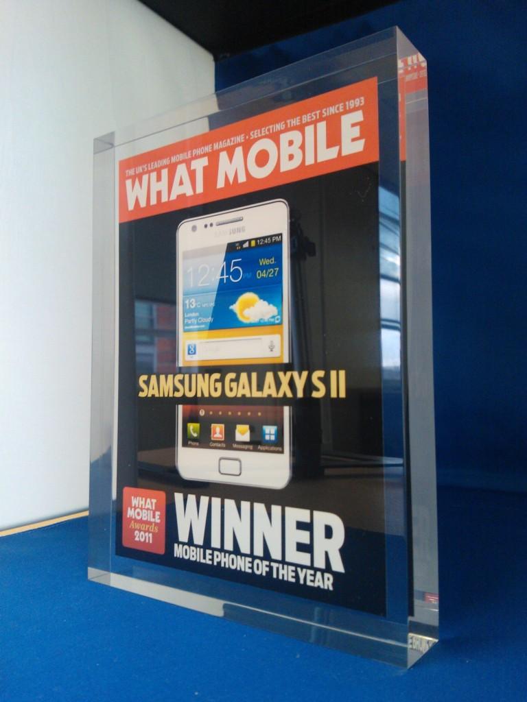 Samsung Galaxy SII smartfone of year 2011