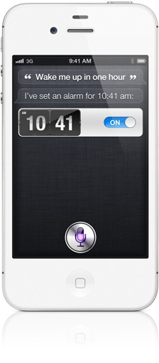 Siri iPhone 4
