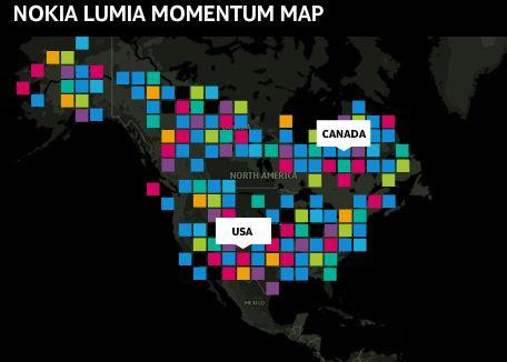 Nokia Lumia Map