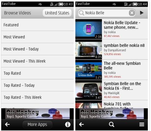 FastTube app