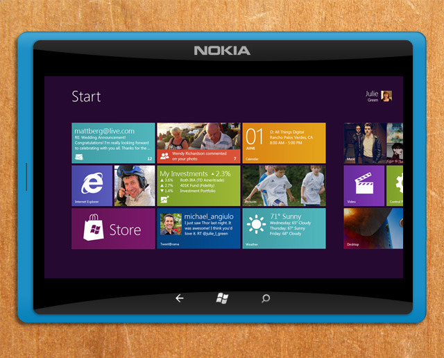 Nokia Windows 8 tablet