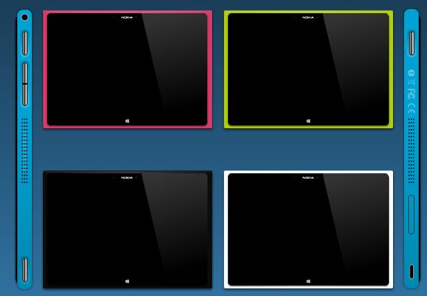 Nokia tablet design