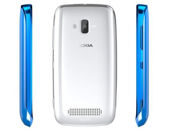Nokia Lumia 610 tył