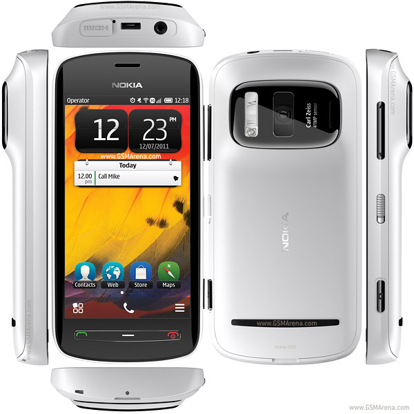 Nokia 808 PureView design