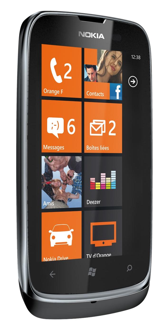 Nokia Lumia 610 specyfikacja