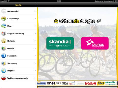 Tour de Pologne app