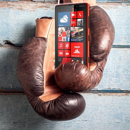 Nokia Lumia 820 rękawiczki