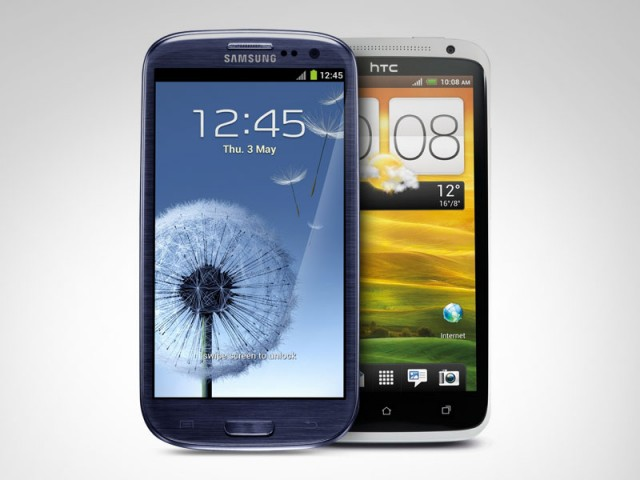 Samsung Galaxy S III i HTC One X