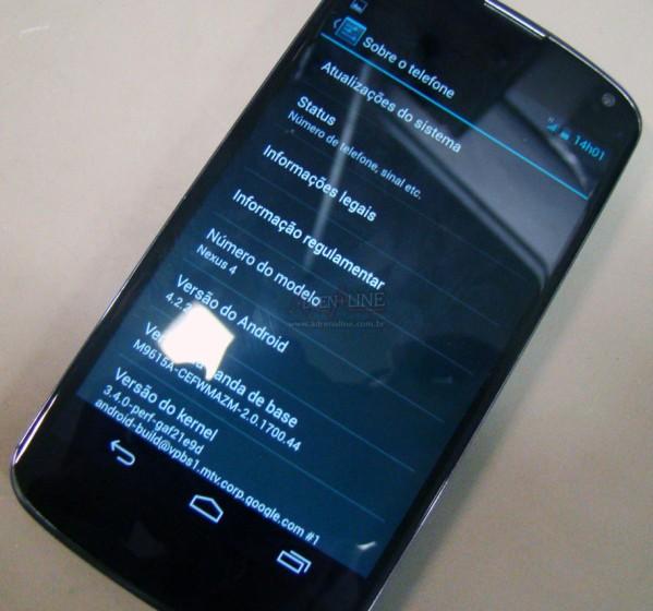nexus 4 ota 4 2 2 Android 4.2.2 Jelly Bean napotkany w Brazylii i ...