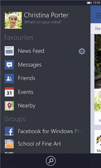 Facebook Beta WP