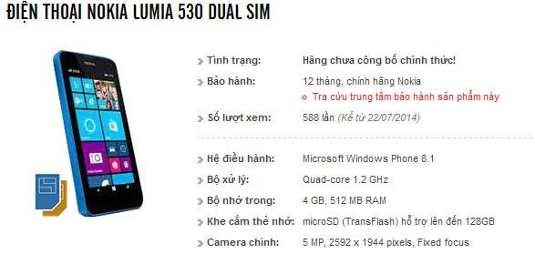 L530-specs
